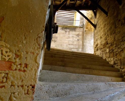 Pasadizo entre calles de Antoñana / Kaleen arteko pasadizoa Antoñanan