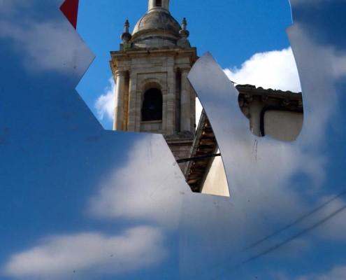 Torre de la iglesia parroquial de San Vicente Mártir de Antoñana / Antoñanako San Vicente Mártir de Antoñana parrokia-elizaren dorrea