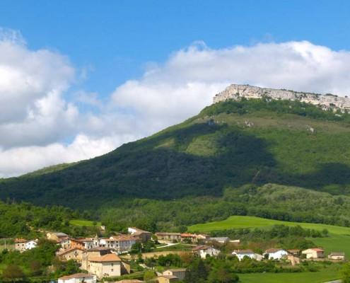 Vista panorámica de Bujanda / Bujandako panoramika