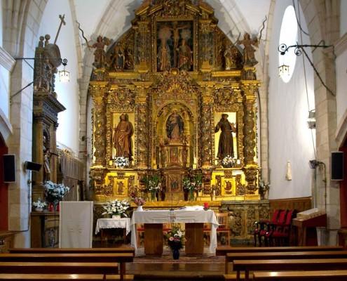Interior de la iglesia de la Asunción de Nuestra Señora de Bujanda / Bujandako Andre Mariaren Jasokundea Elizaren barrualdea