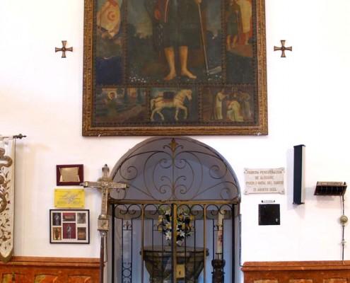 Baptisterio de la iglesia de la Asución de Nuestra Señora de Bujanda / Bujandako Andre Mariaren Jasokundea Elizaren bataiategia