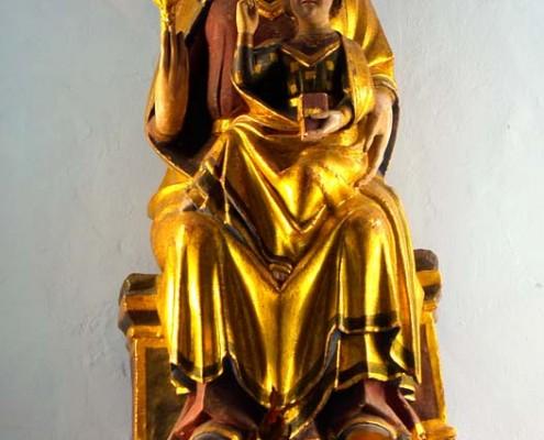 Nuestra Señora de Ibernalo de Santa Cruz de Campezo / Santikurutze Kanpezuko Ibernalo Andre Maria