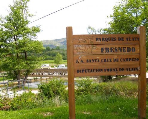 Detalle de Fresnedo / Fresnedori buruzko xehetasuna (Santa Cruz de Campezo / Santikurutze Kanpezu)