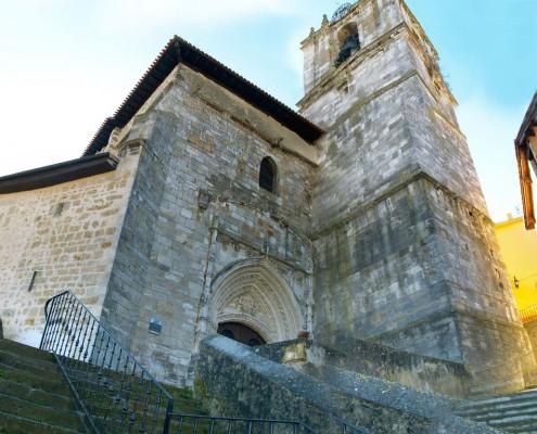 Iglesia de la Asunción de Nuestra Señora .de Santa Cruz de Campezo / Santikurutze Kanpezuko Andre Mariaren Jasokundea Eliza