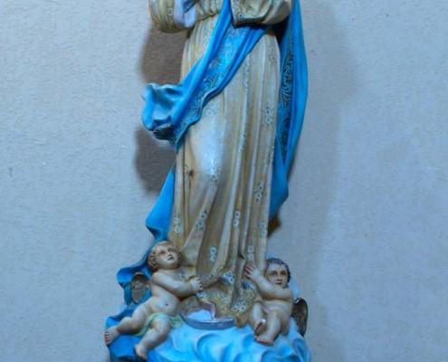 Inmaculada Concepción de la iglesia de San Andrés de Orbiso / Orbisoko San Andrés Elizako Sortzez Garbia