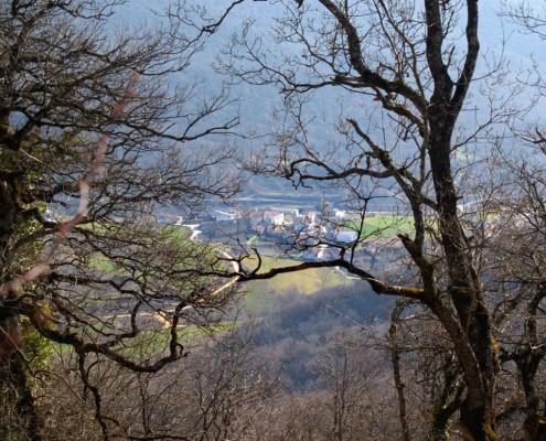 Vista panorámica de Oteo / Oteoko panoramika