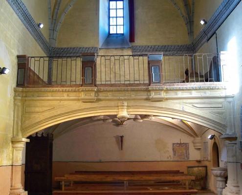 Coro de la iglesia de San Mamés de Oteo / Oteoko San Mamés Elizako korua