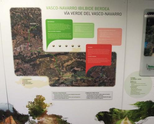 Centro de interpretación Via Verde del Vasco-Navarro / Vasco-Navarro ibilbide berdearen interpretazio zentroa