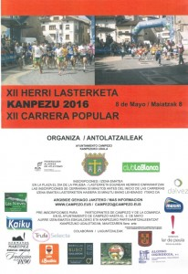 Cartel CARRERA POPULAR 2016